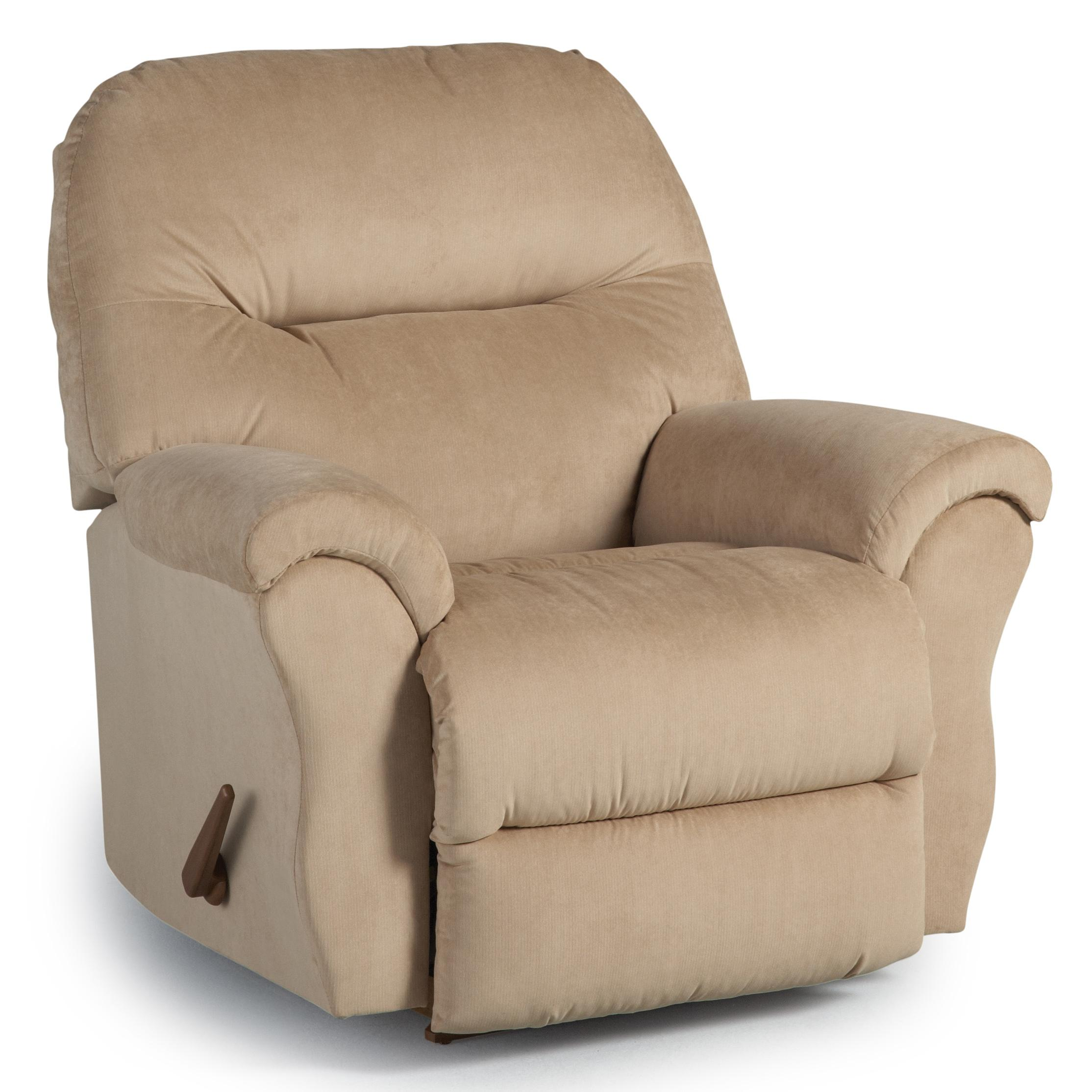 Medium Recliners Bodie Rocker Recliner by Best Home Furnishings at Best Home Furnishings