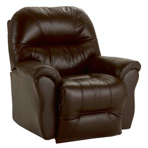 Best Home Furnishings Medium Recliners Bodie Swivel Rocker Recliner