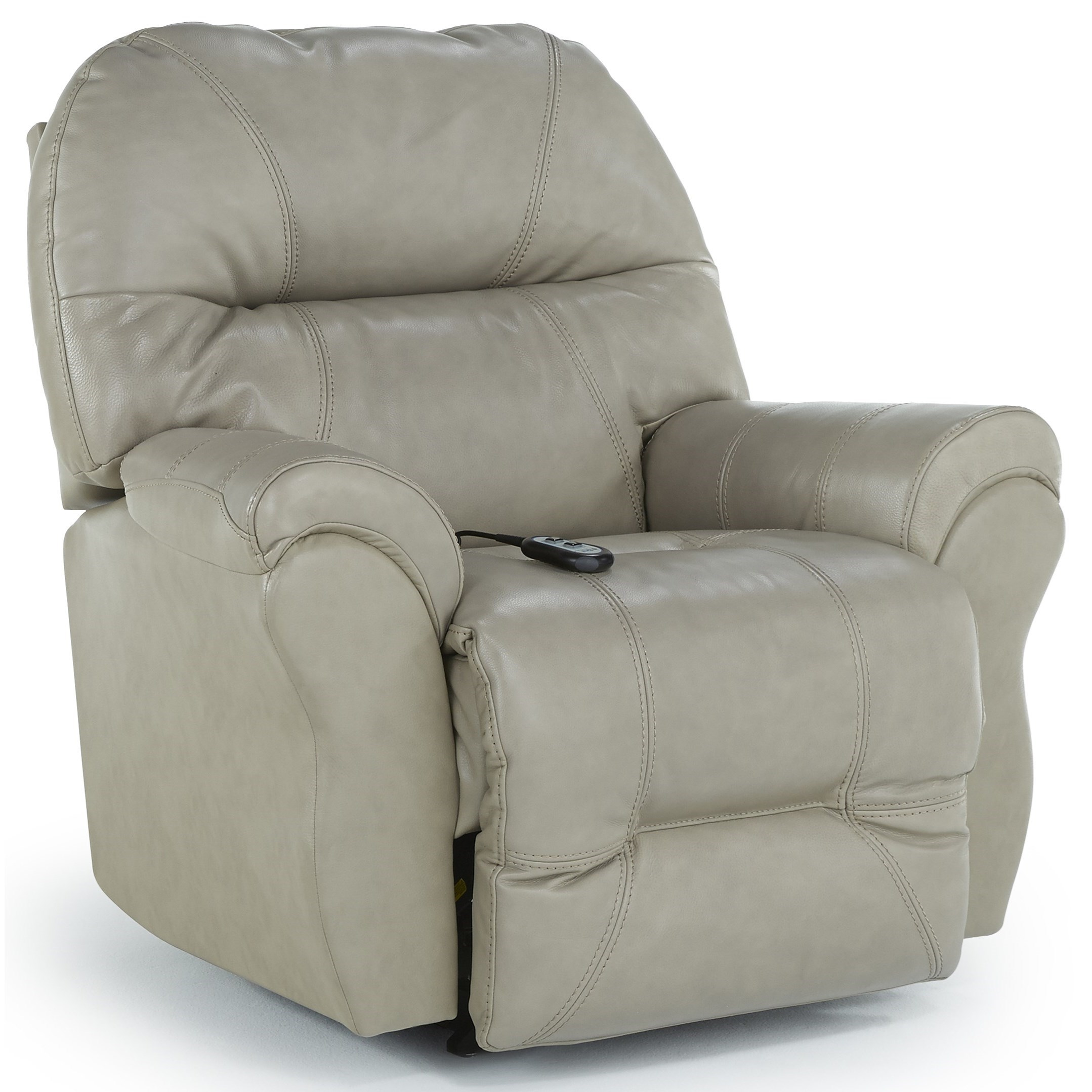 Medium Recliners Bodie Power Swivel Glider Recliner by Best Home Furnishings at Baer's Furniture