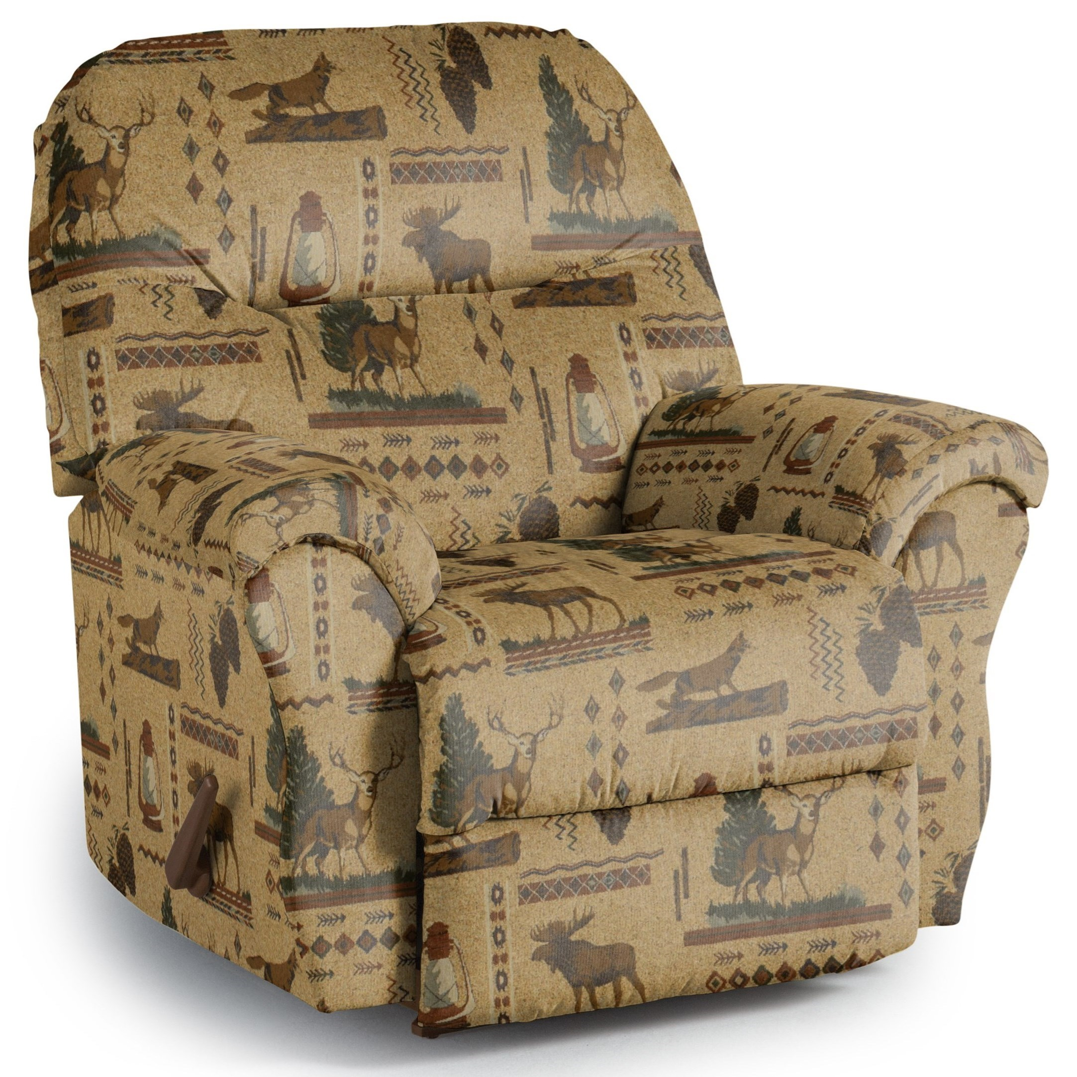 Medium Recliners Bodie Rocker Recliner by Best Home Furnishings at Lucas Furniture & Mattress