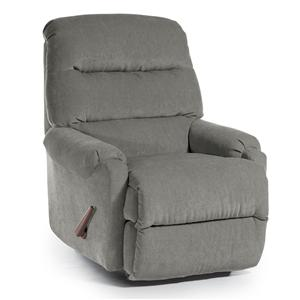 Best Home Furnishings Medium Recliners Sedgefield Power Rocker Recliner