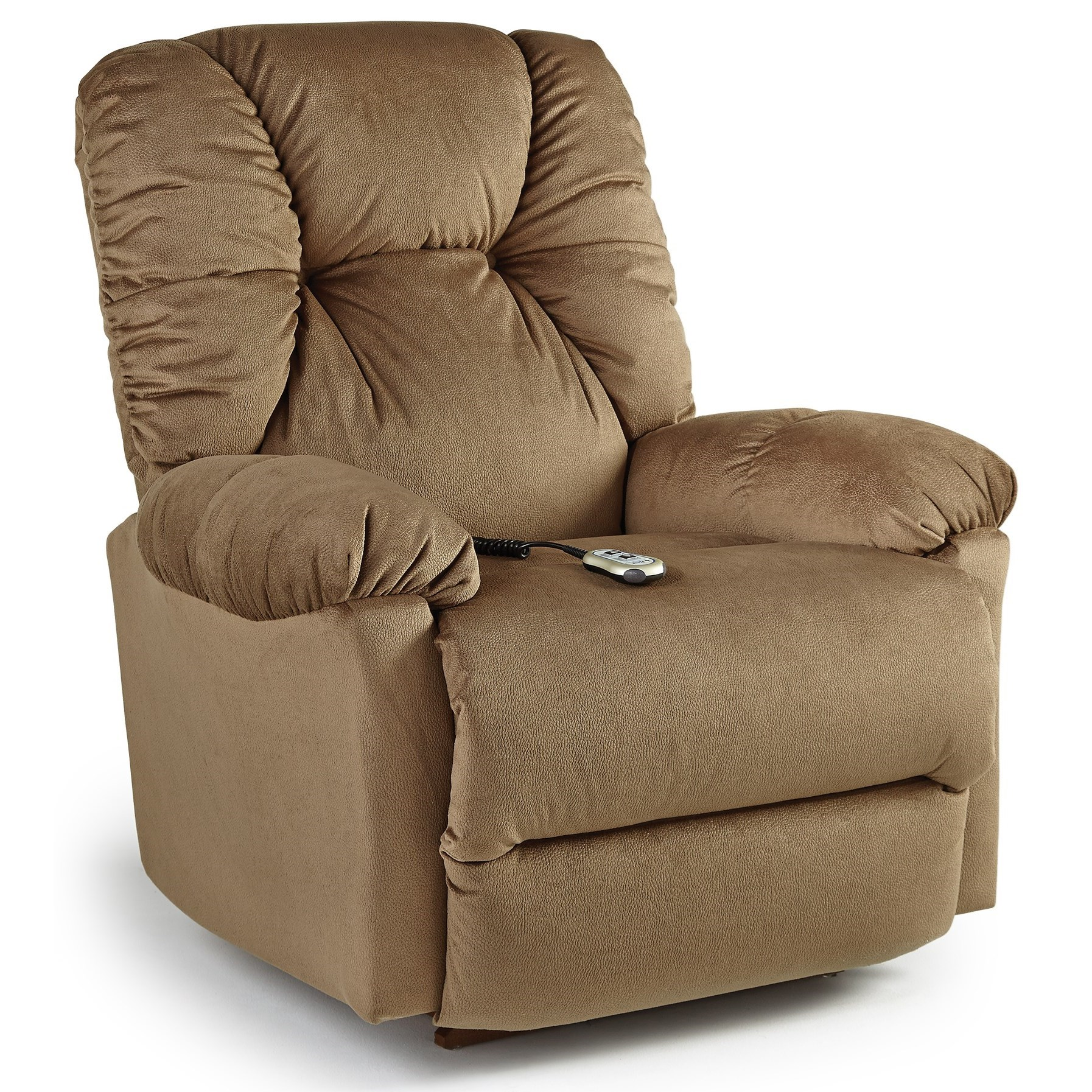 Medium Recliners Power Rocker Recliner by Best Home Furnishings at Hudson's Furniture