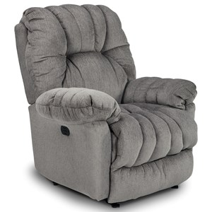 Best Home Furnishings Medium Recliners Conen Power Wallhugger Recliner
