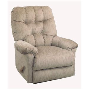 Best Home Furnishings Medium Recliners Raider Swivel Glider Recliner