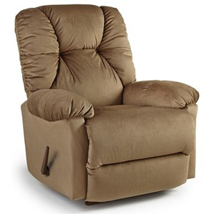 Best Home Furnishings Recliners - Medium Romulus Swivel Rocker Recliner