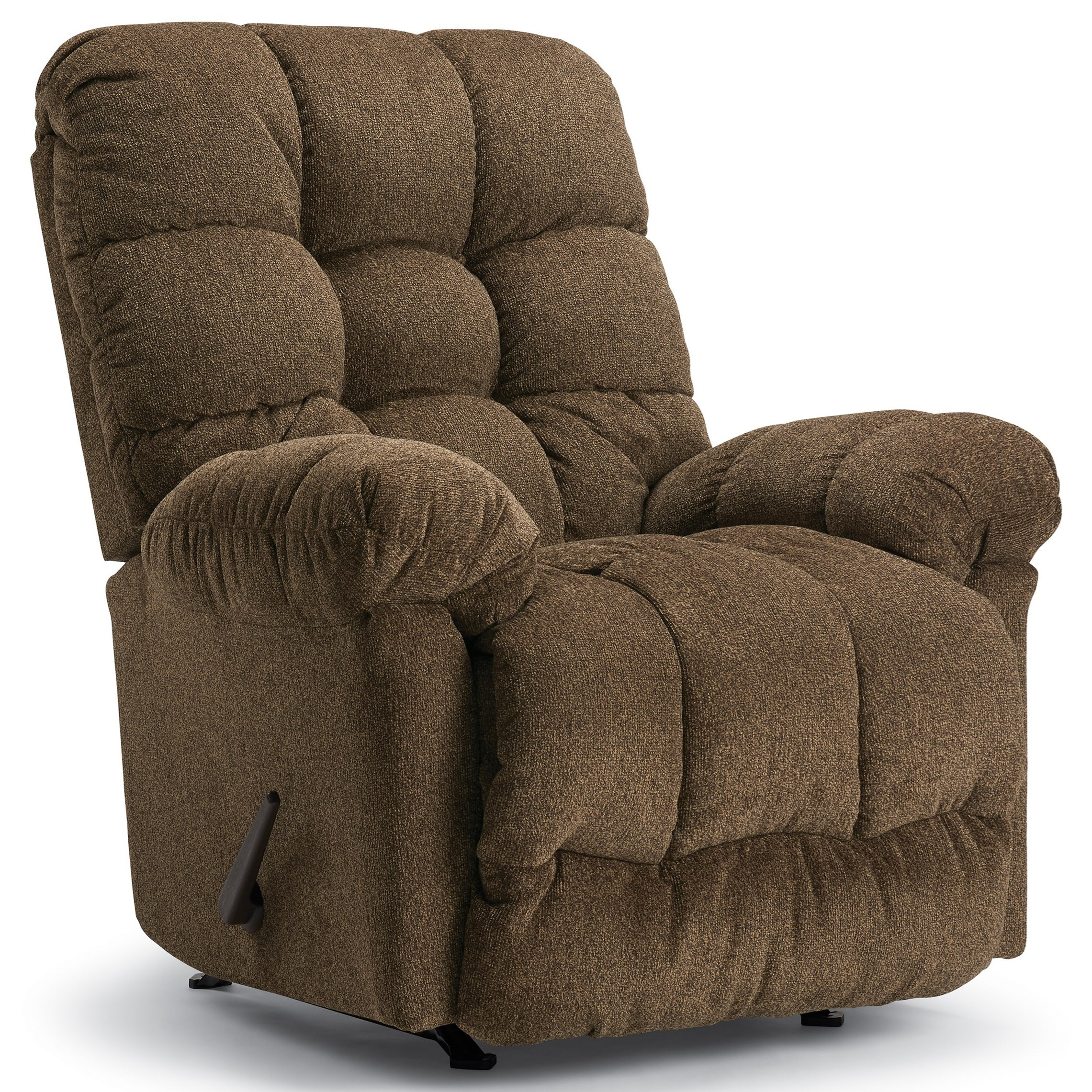 Medium Recliners Brosmer Rocker Recliner by Best Home Furnishings at Powell's Furniture and Mattress