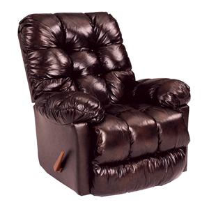 Best Home Furnishings Medium Recliners Brosmer Power Rocker Recliner