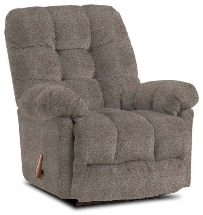 Medium Recliners Brosmer Rocker Recliner by Best Home Furnishings at Wilcox Furniture