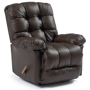 Best Home Furnishings Medium Recliners Brosmer Swivel Rocker Recliner