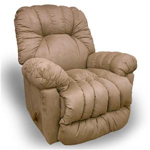 Best Home Furnishings Medium Recliners Conen Swivel Glider Recliner