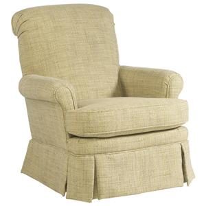Casual Living Room Swivel Glider