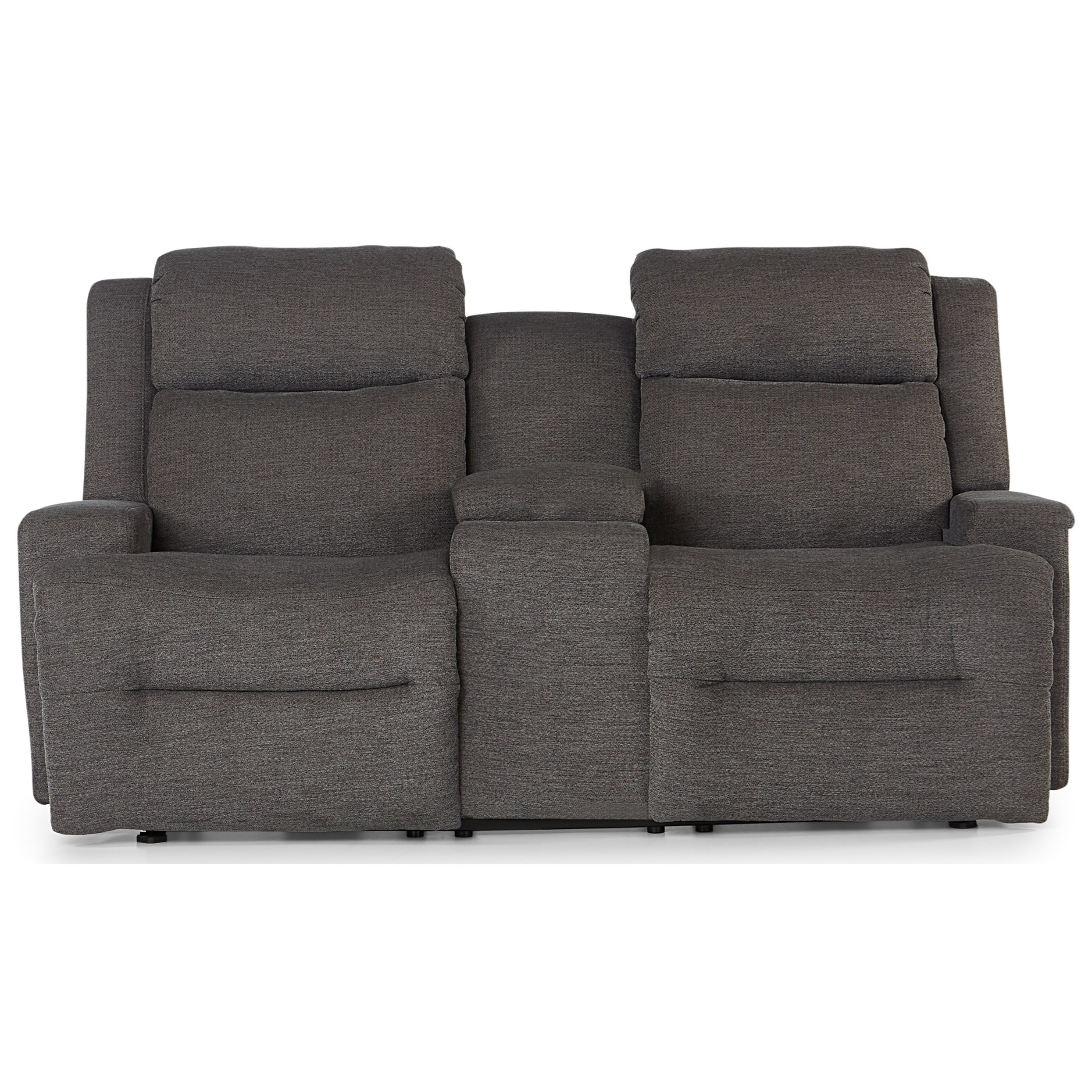 O'Neil Power Space Saver Console Reclining Loveseat by Best Home Furnishings at Baer's Furniture