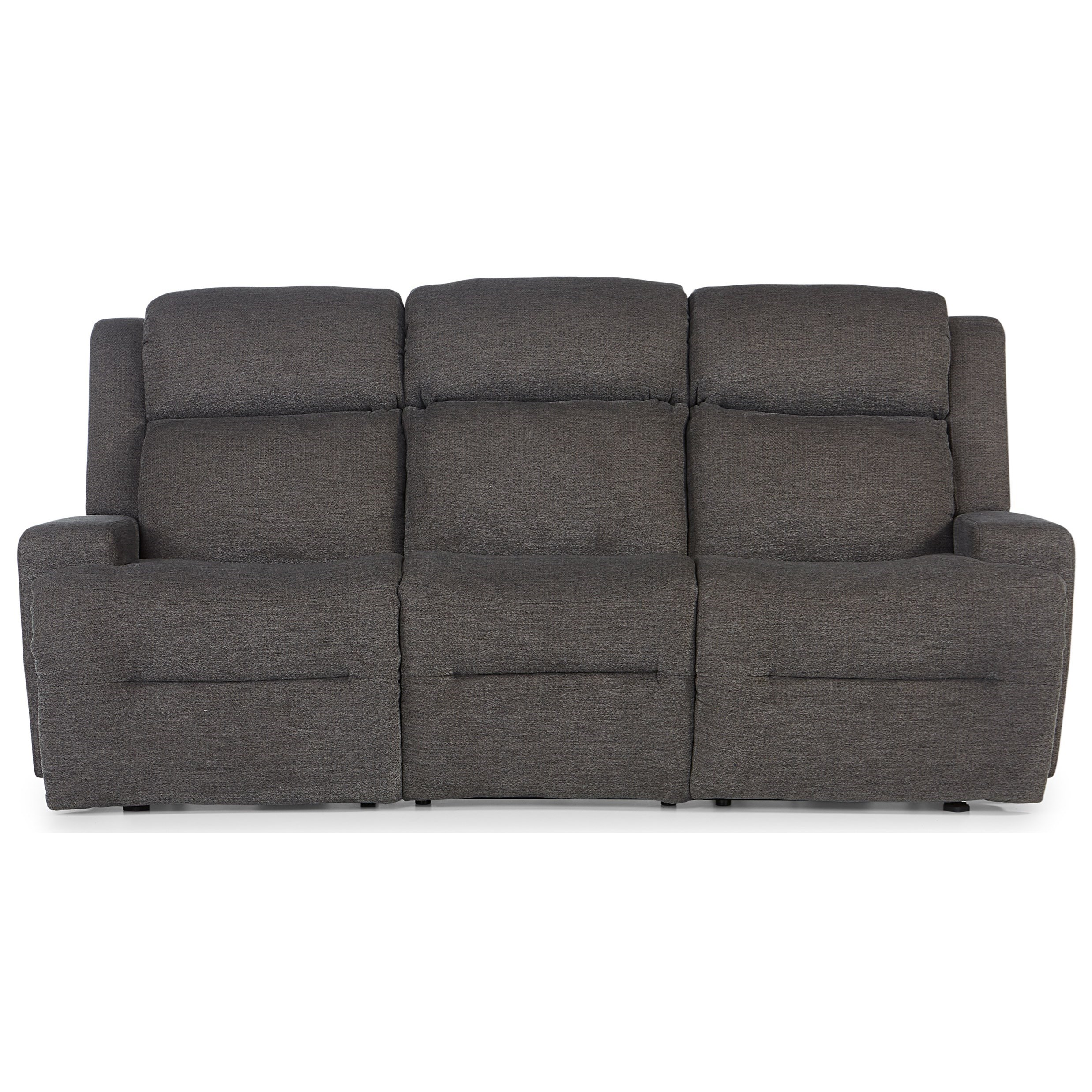O'Neil Power Space Saver Reclining Sofa w/ Tray by Best Home Furnishings at Baer's Furniture