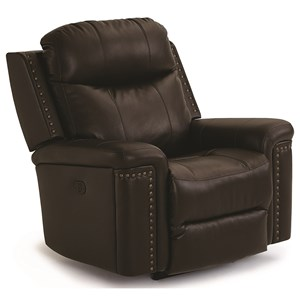Power Rocker Recliner with Power Tilt Headrest and USB Charging Port
