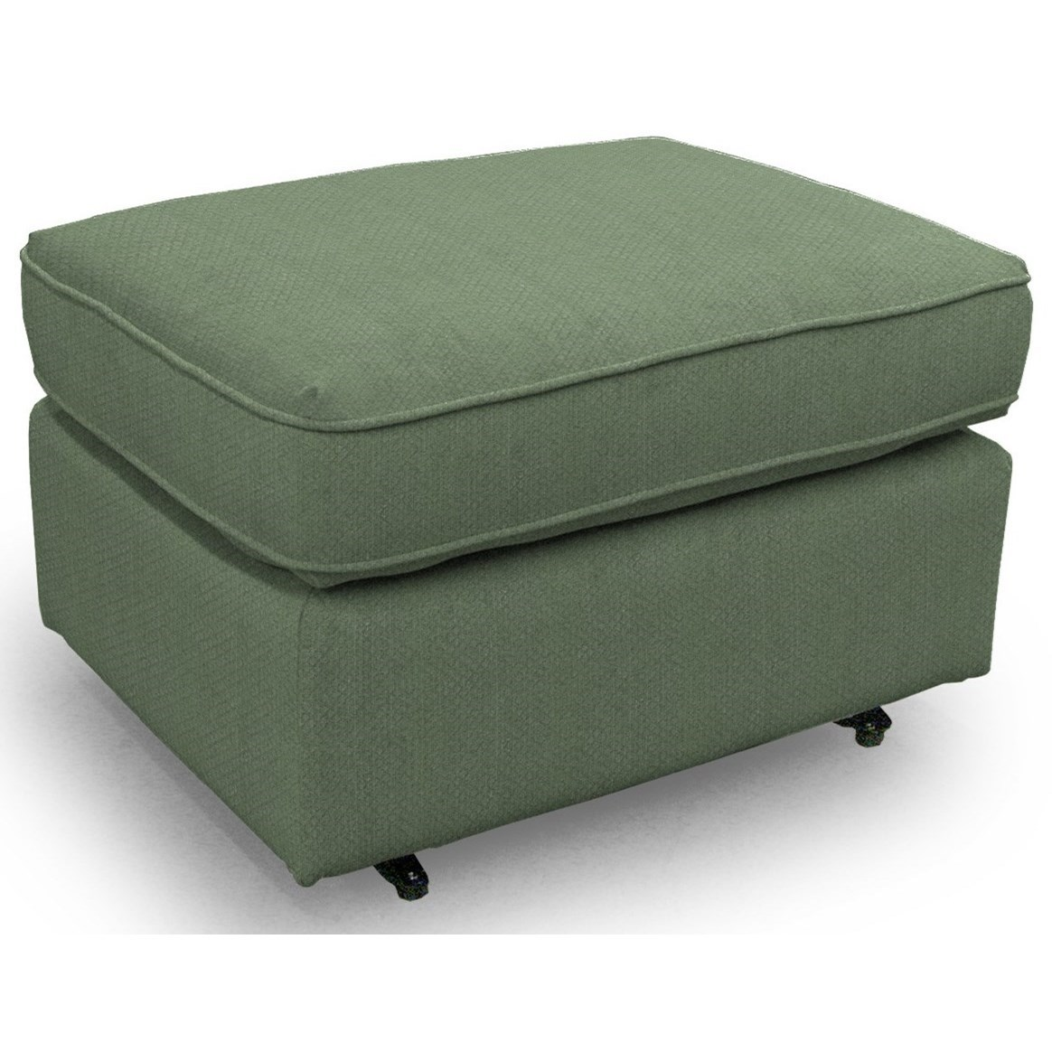 Ottomans Rounded Casual Ottoman by Best Home Furnishings at Pilgrim Furniture City