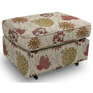 Smooth Rounded Casual Ottoman