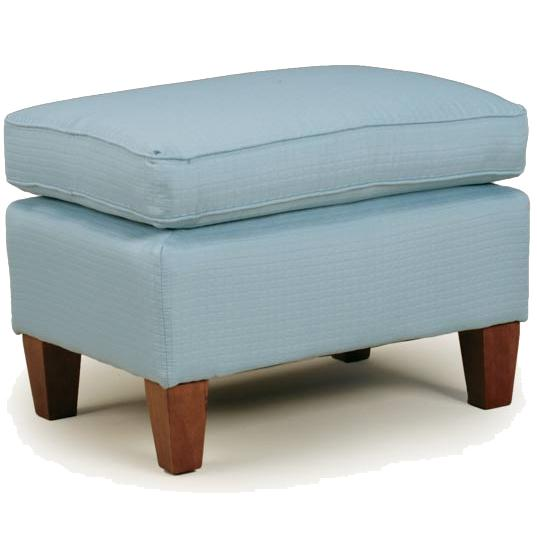 Ottomans Contemporary Rectangular Ottoman by Best Home Furnishings at Best Home Furnishings