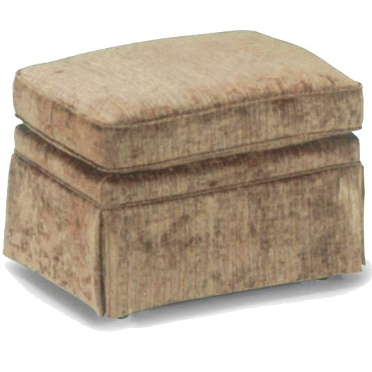 Ottomans Rounded Cushioned Ottoman by Bravo Furniture at Bennett's Furniture and Mattresses