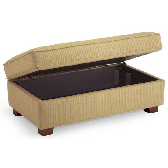 Ottomans Storage Ottoman by Best Home Furnishings at Jacksonville Furniture Mart