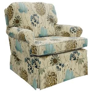 Morris Home Furnishings Patoka Swivel Glider Club Chair
