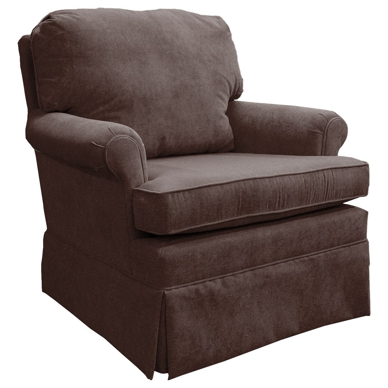 Patoka Swivel Rocking Club Chair  by Best Home Furnishings at Lapeer Furniture & Mattress Center