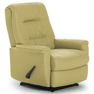 Felicia Rocker Recliner with Button-Tufted Back