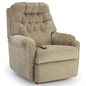 Best Home Furnishings Recliners - Petite Sondra Power Lift Recliner