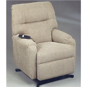 Best Home Furnishings Petite Recliners JoJo Power Lift Recliner