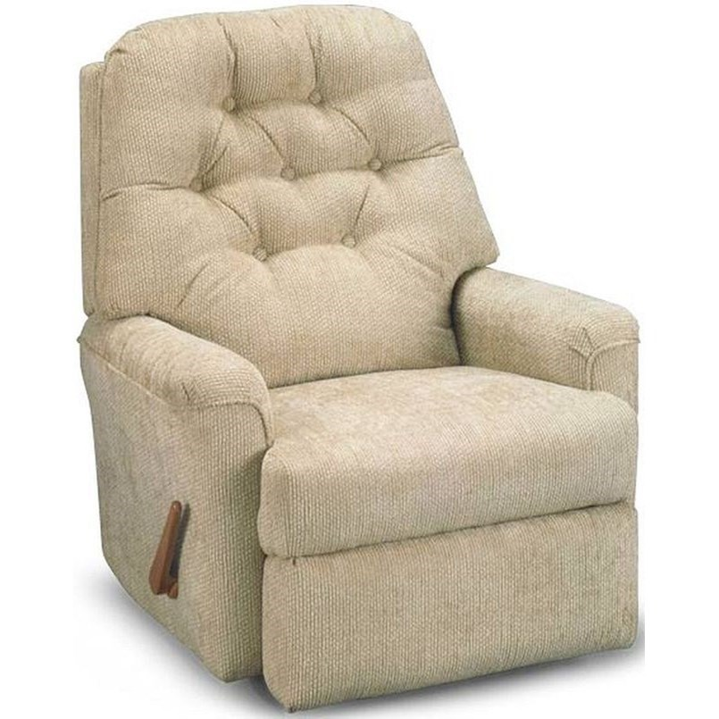 Petite Recliners Cara Wallhugger Recliner by Best Home Furnishings at Walker's Furniture