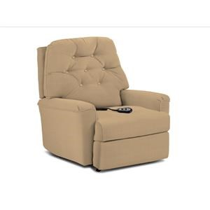 Cara Wallhugger Recliner with Button Tufted Seat Back