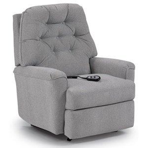 Cara Rocker Recliner with Exterior Handle