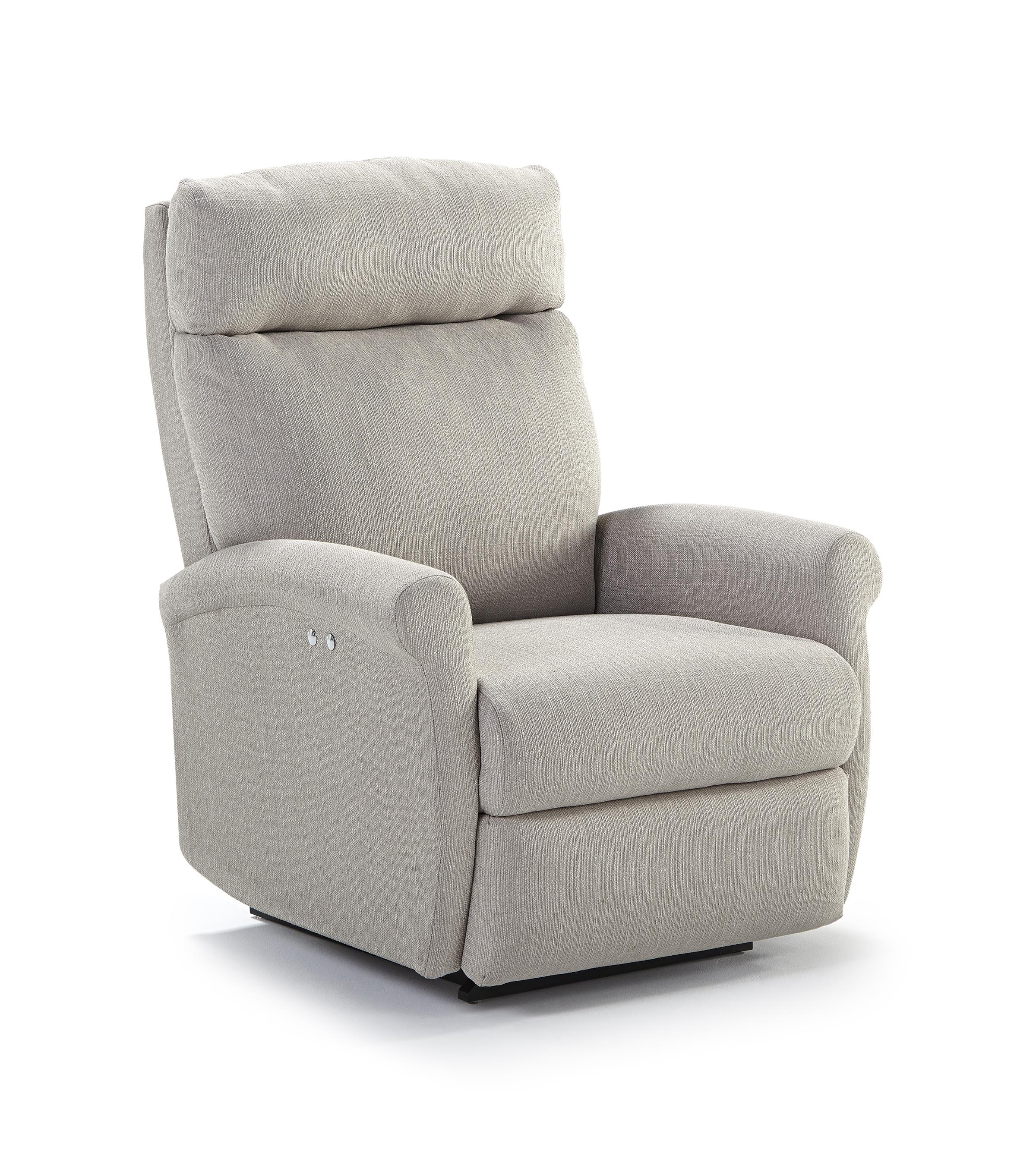 Codie Power Tilt Headrest Space Saver Recliner by Best Home Furnishings at Rooms and Rest