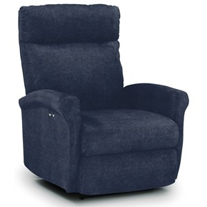 Best Home Furnishings Recliners - Petite Power Space Saver Recliner