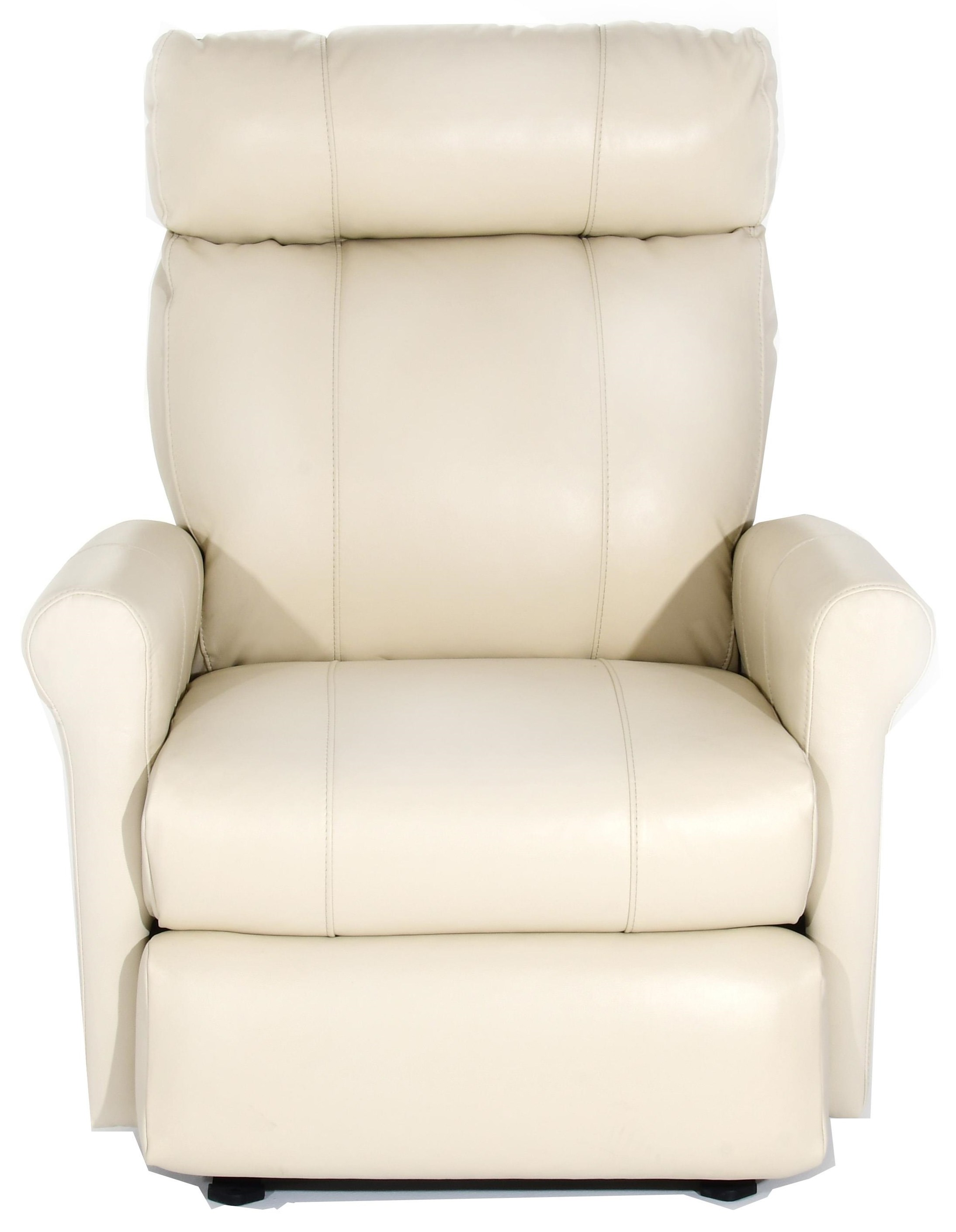 Power Space Saver Wall Recliner with Rolled Arms