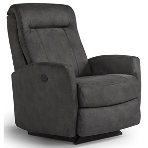 Best Home Furnishings Recliners - Petite Costilla Pwr Rocker Recliner w/ Pwr Headrest
