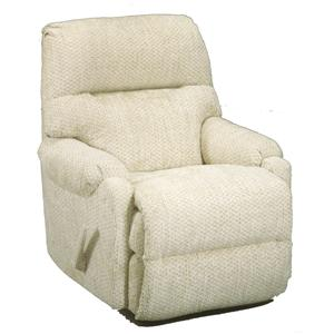 Best Home Furnishings Petite Recliners Cannes Power Rocker Recliner