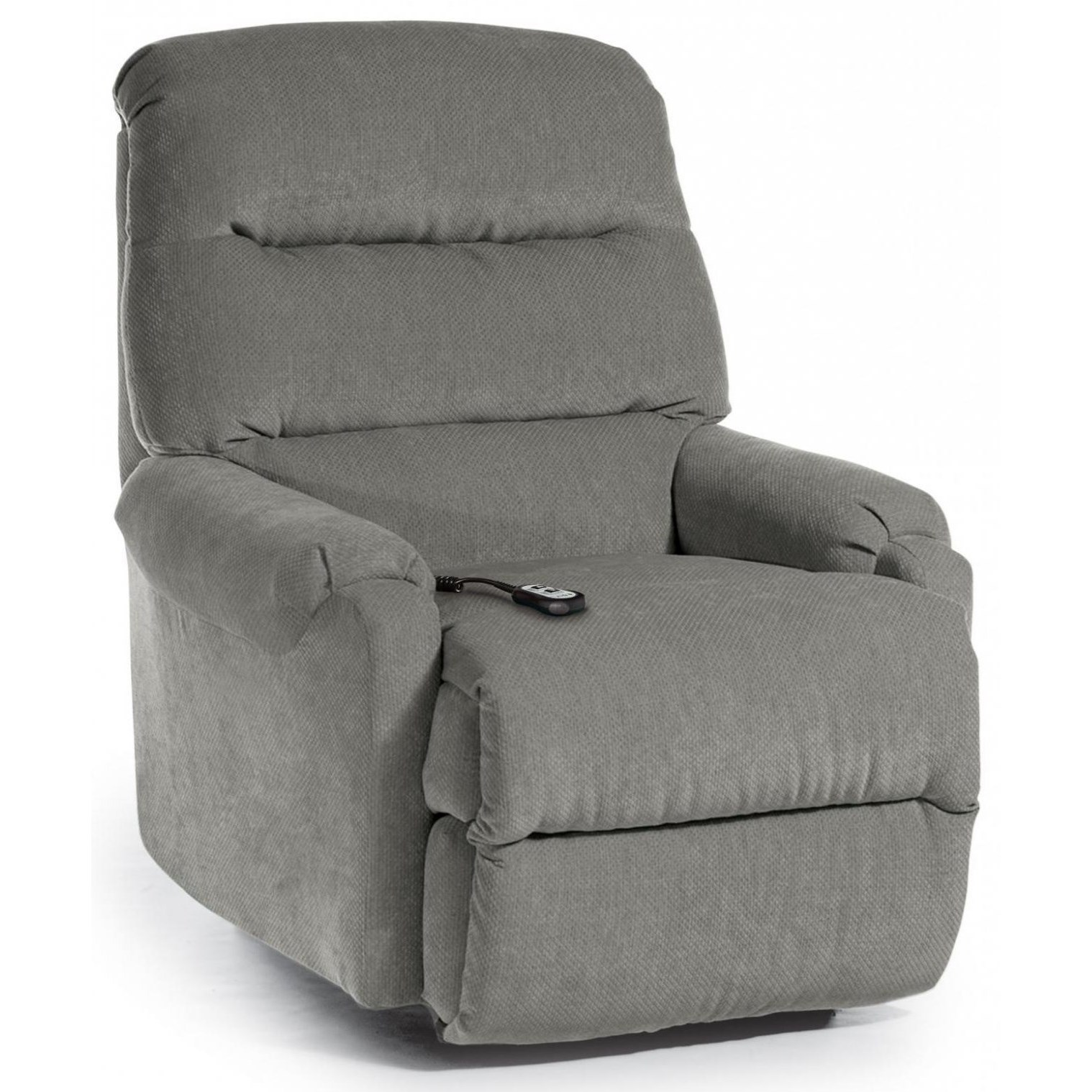Petite Recliners Sedgefield Pwr Lift Recliner w/ Pwr Headrest by Best Home Furnishings at Lapeer Furniture & Mattress Center