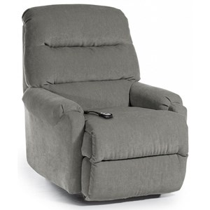 Best Home Furnishings Recliners - Petite Sedgefield Pwr Lift Recliner w/ Pwr Headrest