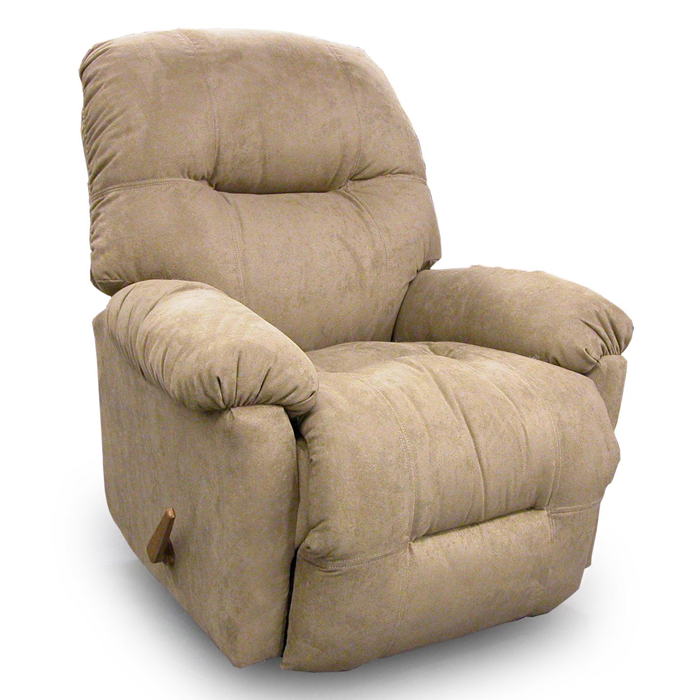 Petite Recliners Wynette Rocker Recliner by Best Home Furnishings at Gill Brothers Furniture