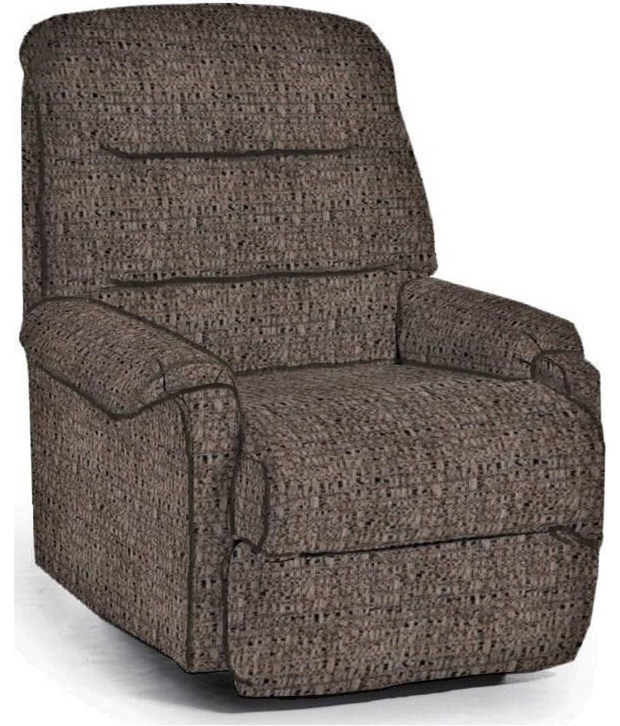 Pinnacle Power Headrest Wallsaver Recliner by Best Home Furnishings at Crowley Furniture & Mattress