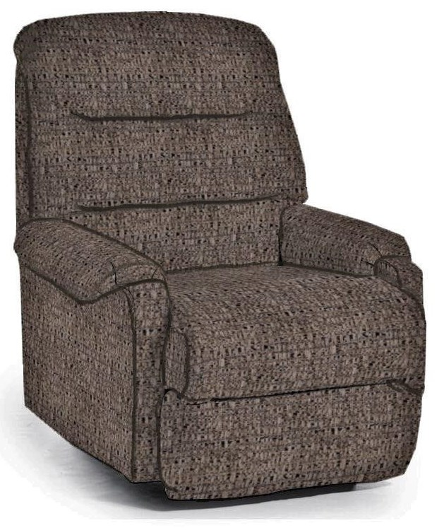 Pinnacle Power Headrest Rocking Recliner by Best Home Furnishings at Crowley Furniture & Mattress