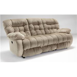 Best Home Furnishings Plusher Space Saver Reclining Sofa