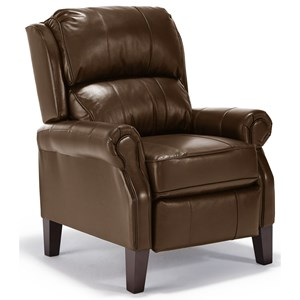 Joanna Push Back Recliner with Rolled Arms