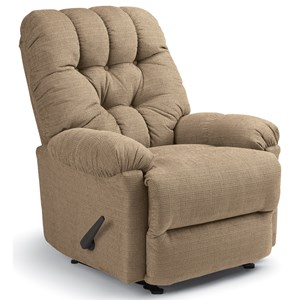 Raider Rocker Recliner with Exterior Handle