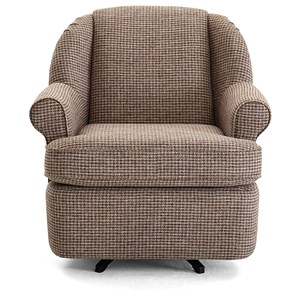 Swivel Glider Wing Chair