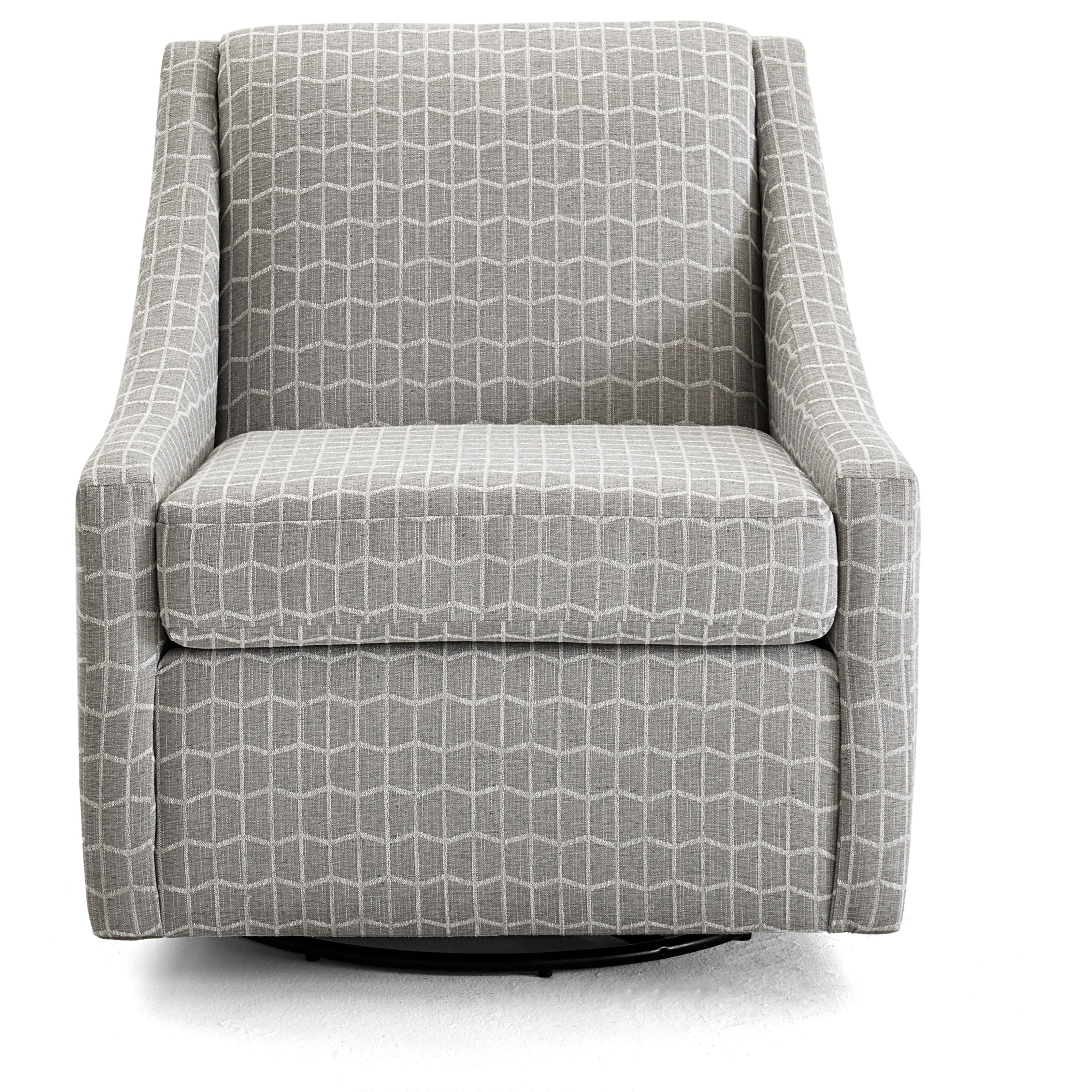 Regan Swivel Glider Chair by Best Home Furnishings at Walker's Furniture
