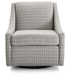 Contemporary Swivel Glider Chair