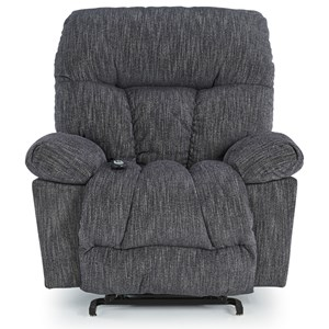 Casual Swivel Glide Recliner