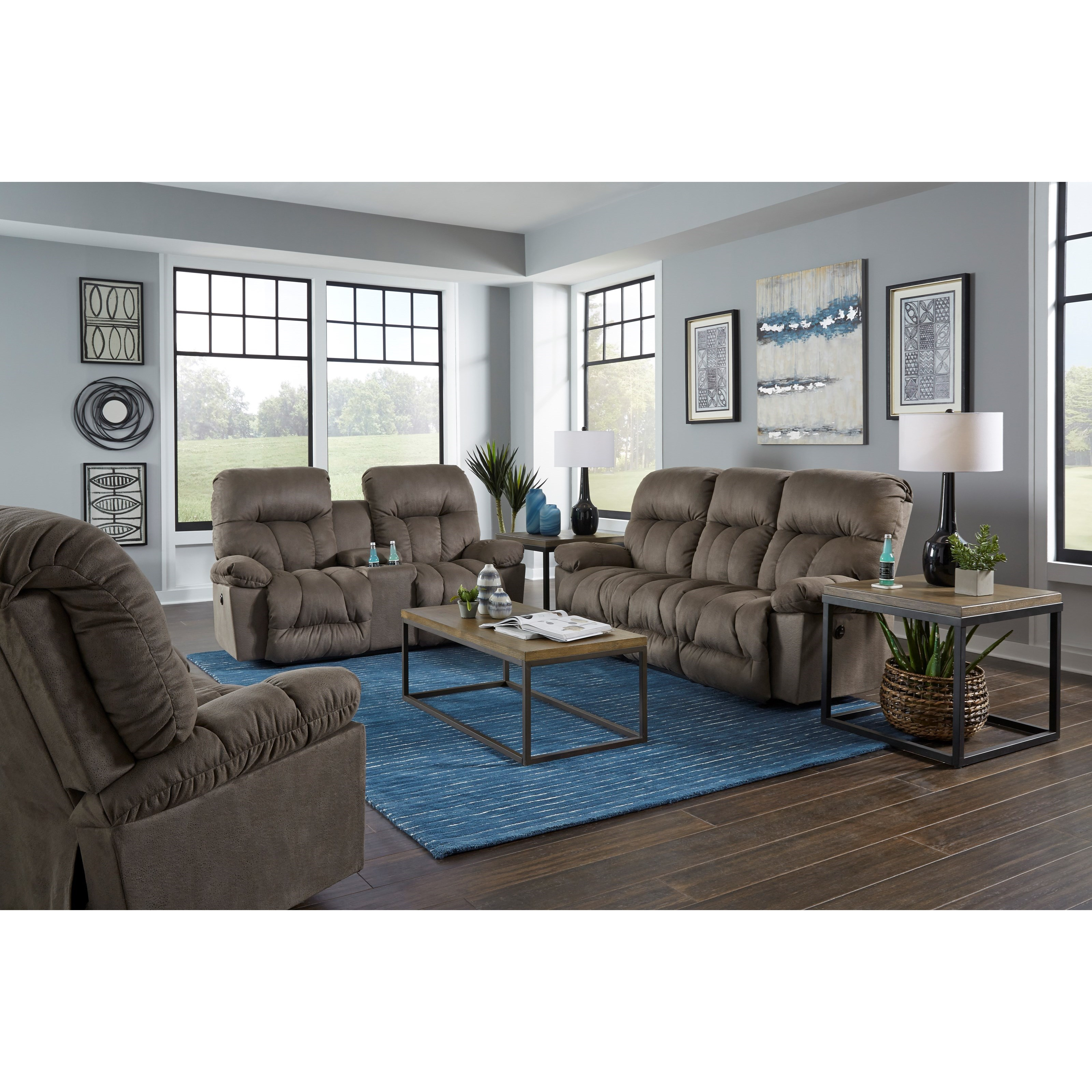 Retreat Reclining Living Room Group by Best Home Furnishings at Best Home Furnishings