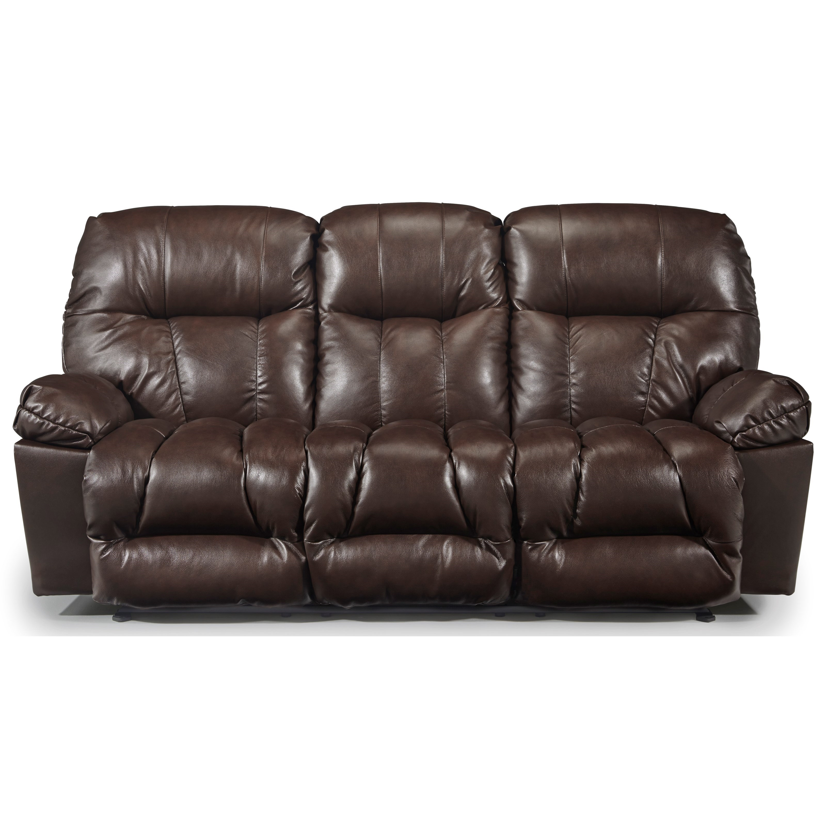 Retreat Reclining Space Saver Sofa by Best Home Furnishings at Baer's Furniture